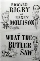 What the Butler Saw 1950 DVD - Edward Rigby / Henry Mollison